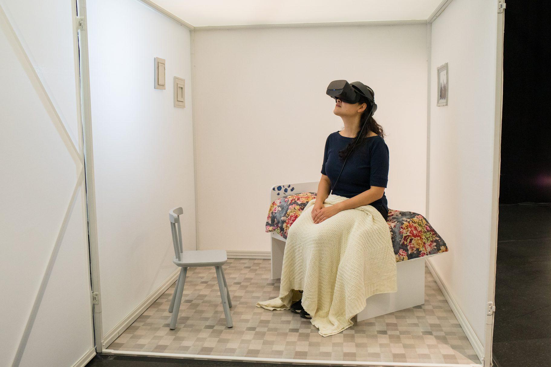 VIOLETTE, expérience réalité virtuelle © Michel St-Jean
